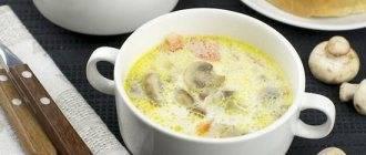 Грибной пп суп - 7 лучших рецептов