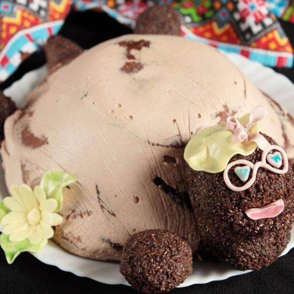 Торт черепаха рецепт с фото  классический пошаговый в домашних условиях