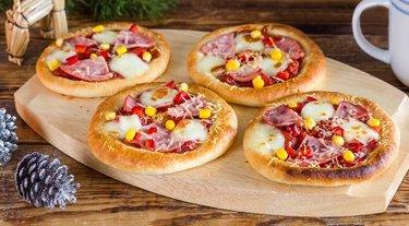 """Закрытые пиццы для пикника """"мини-кальцоне"""""""