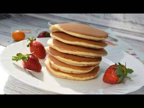 Панкейки на молоке — 10 вкусных пошаговых рецептов