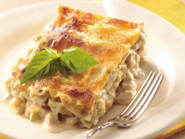Лазанья с фаршем и сливочно грибным соусом - рецепт с фотографиями - patee. рецепты