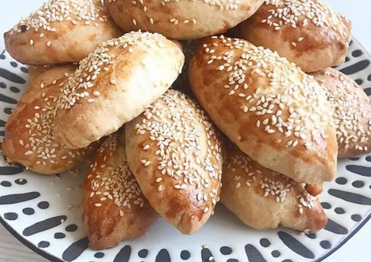 Пирожки из сырного теста