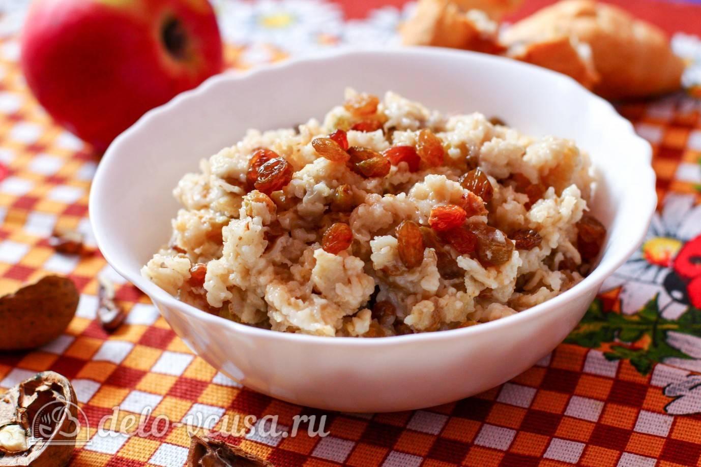 Как приготовить овсянку на воде  готовим вкусный завтрак