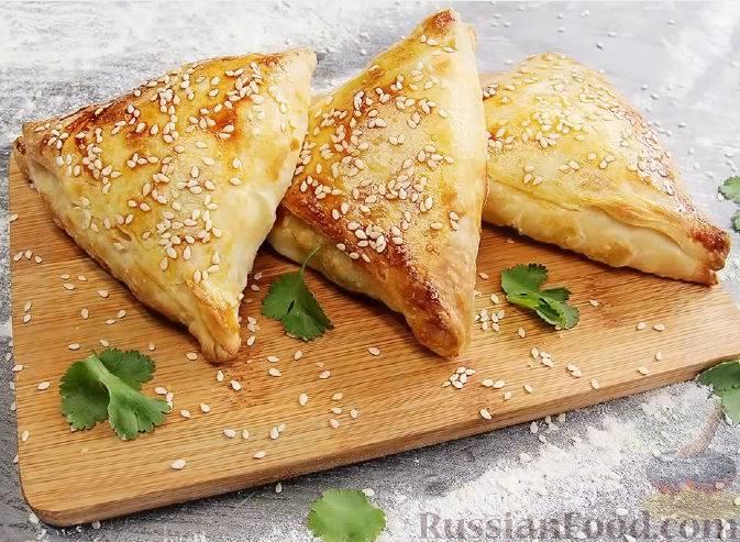 Пирожки с баклажанами и мясом