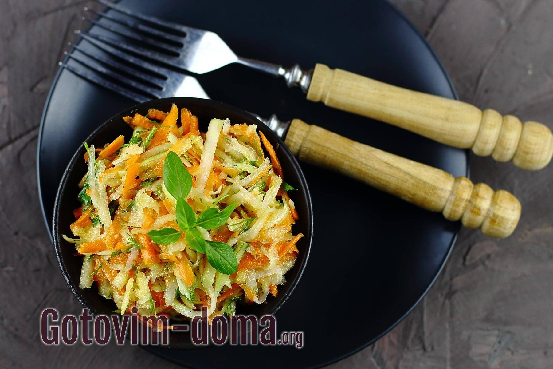 Укрепляем здоровье — готовим вкусные и сочные витаминные салаты
