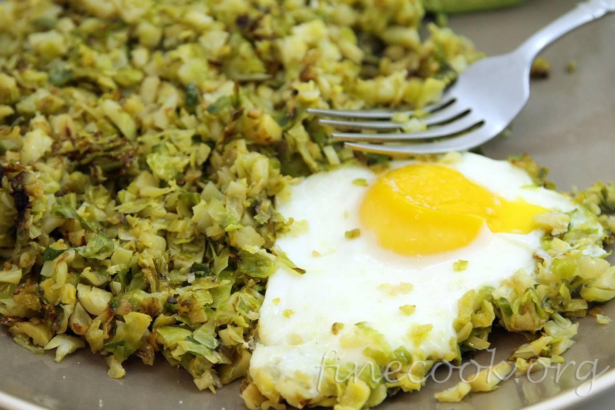 Рецепты приготовления брюссельской капусты на сковороде и другими способами
