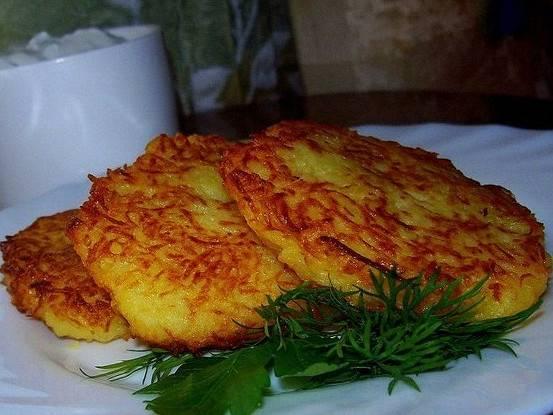Постные драники - самые вкусные рецепты из разных овощей без яиц
