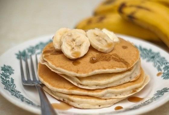 Банановые оладьи — 8 рецептов приготовления