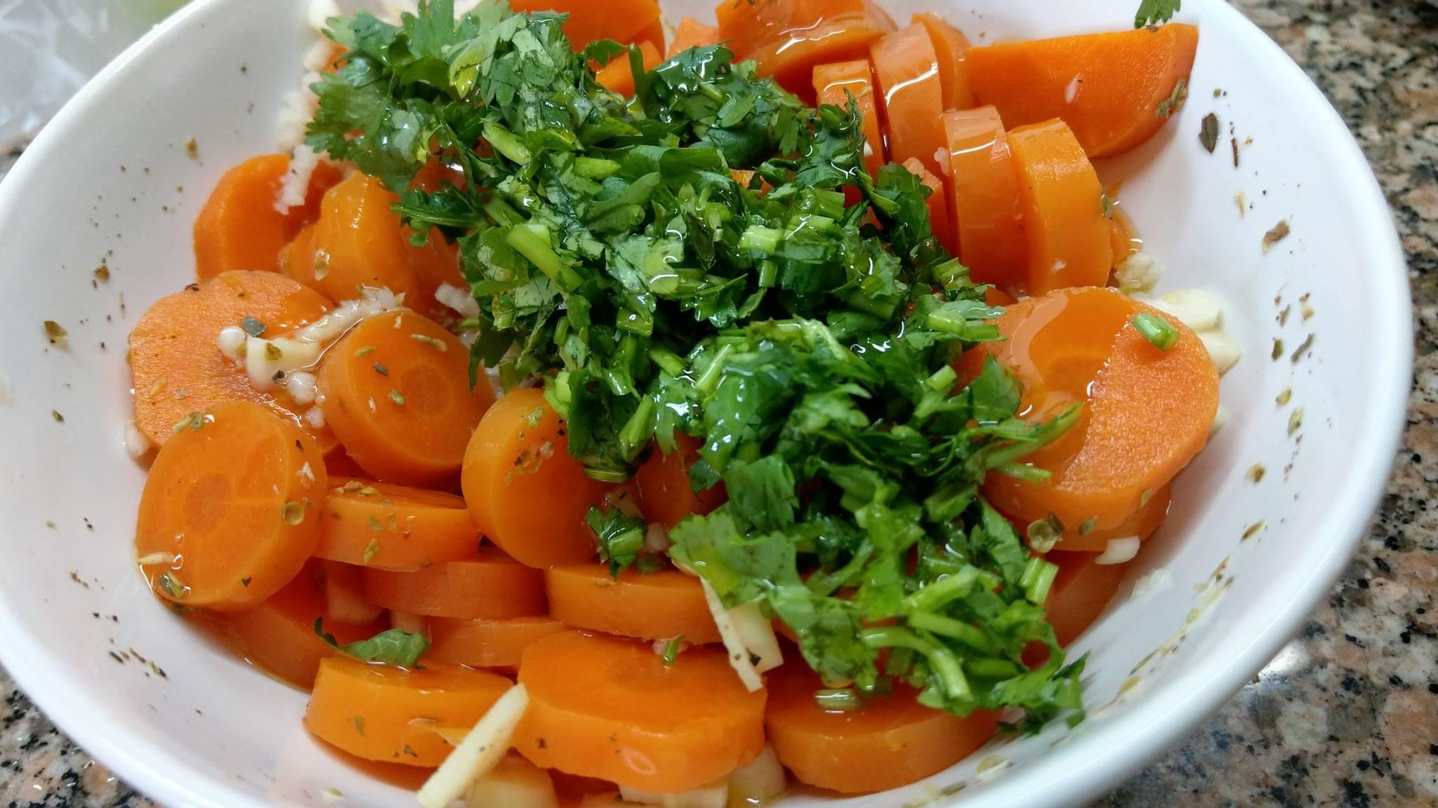 Как приготовить вкусный гарнир из моркови