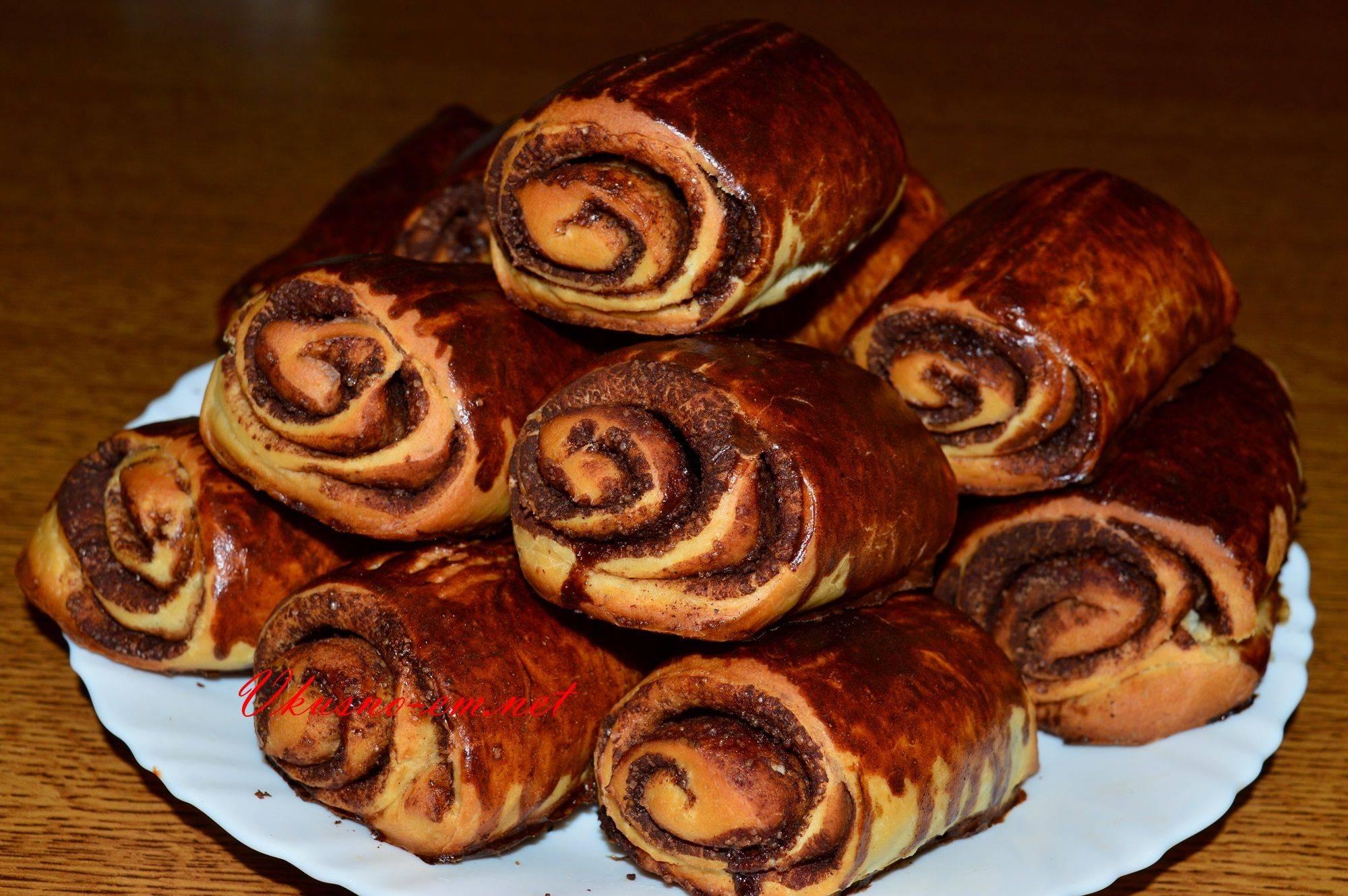Дрожжевое тесто — рецепты пышных булочек с корицей