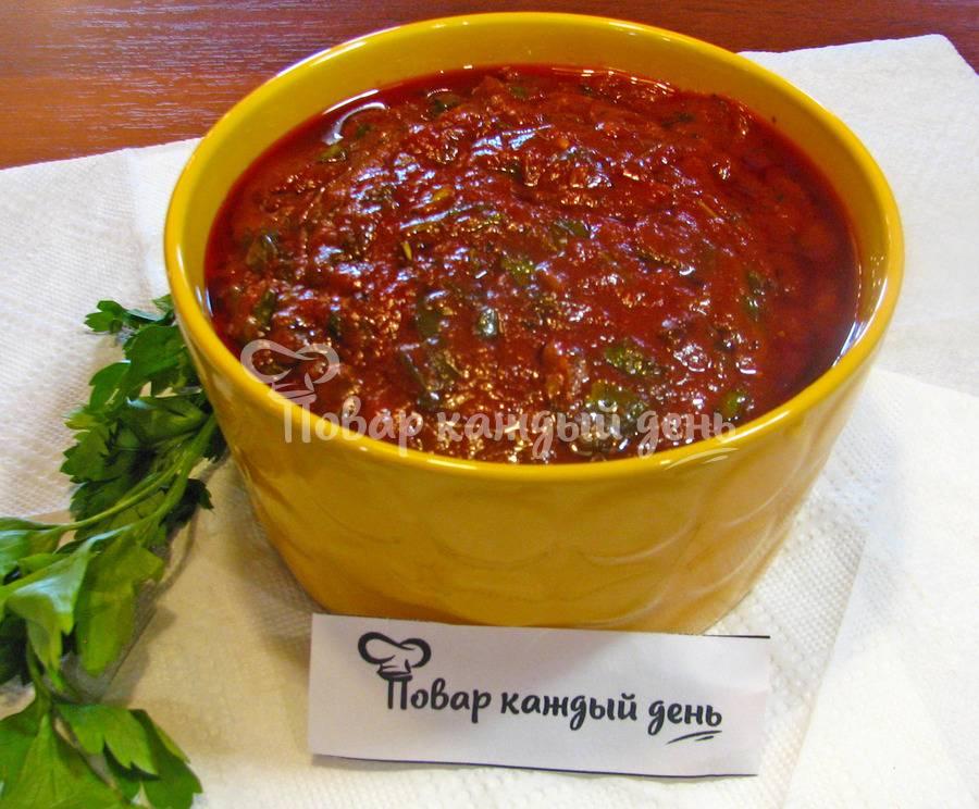 Домашний соус Маринара за 20 минут