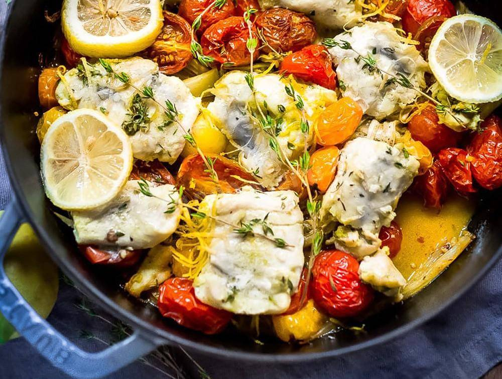Филе минтая в духовке: рецепт с фото самый вкусный