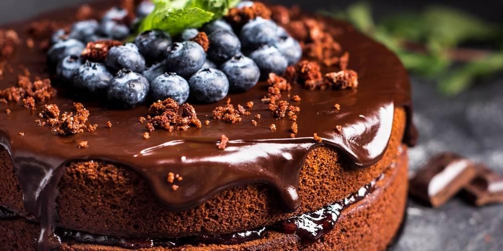 Карамельно-шоколадный торт