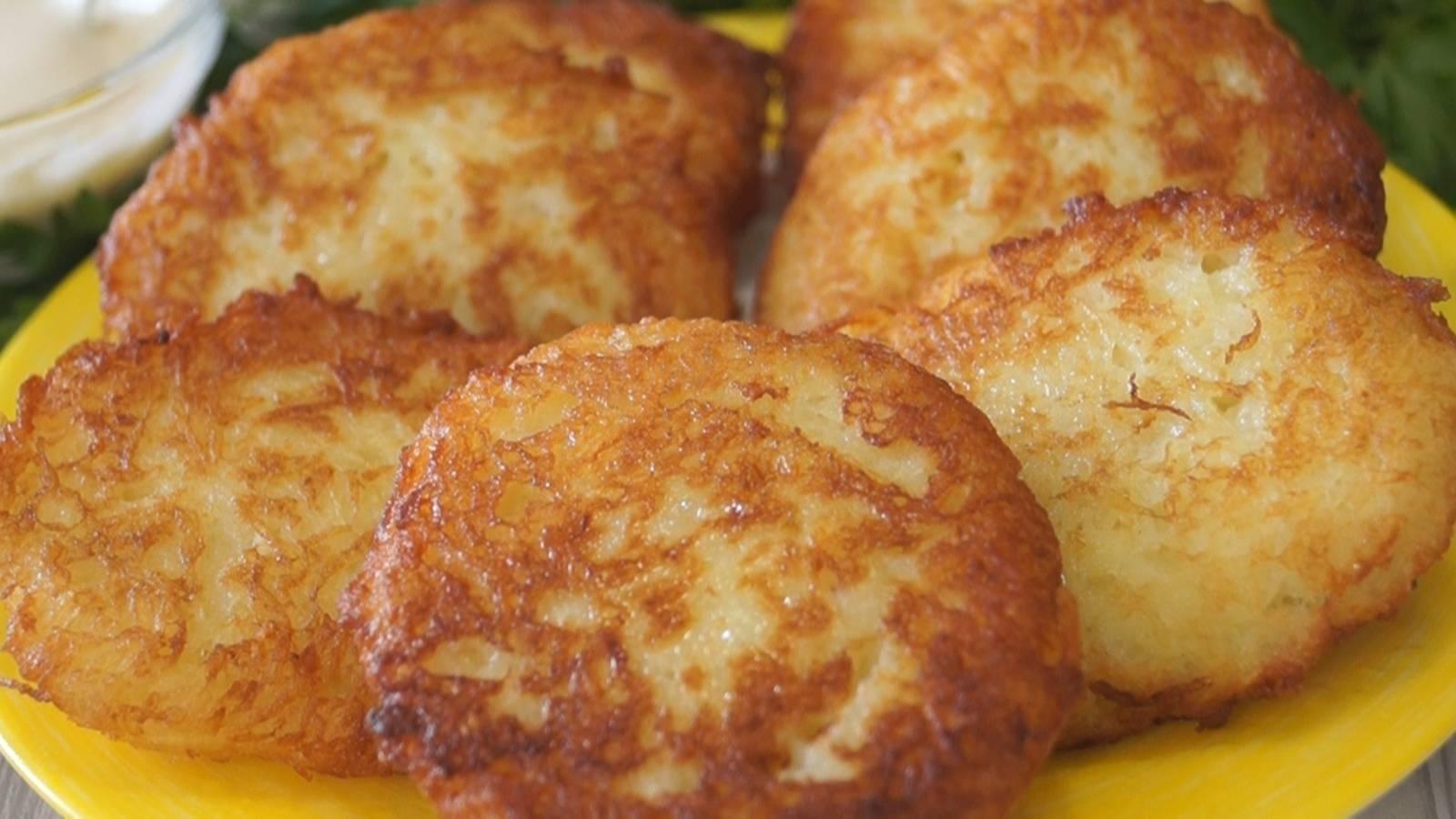 Картофельные драники - рецепт с фото