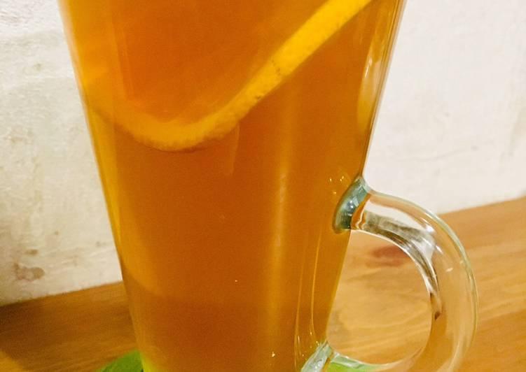 Как приготовить апельсиновый чай