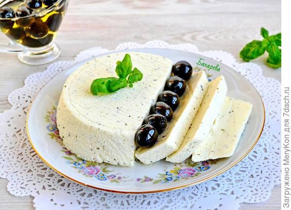 Итальянский домашний сыр