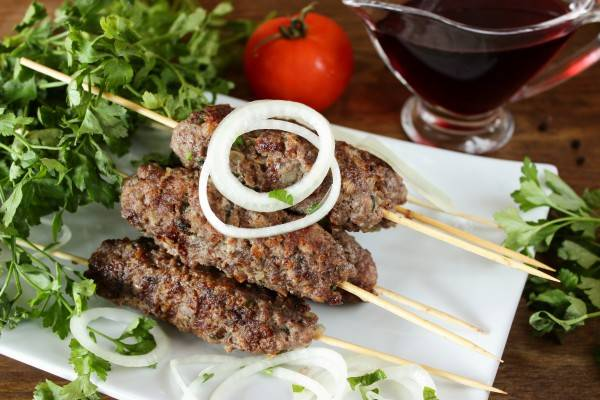 Люля-кебаб на сковороде: рецепт и фото