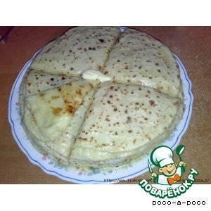 Балкарские хычины: рецепт приготовления с сыром, мясом, картошкой