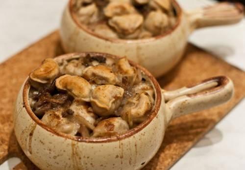 Пельмени с грибами - 8 рецептов с фото, в духовке, жареные