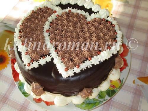 Пирожное валентинка