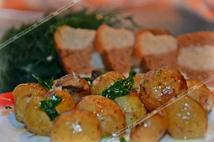 """""""отмороженная"""" картошка. рецепт запекания картофеля в духовке"""