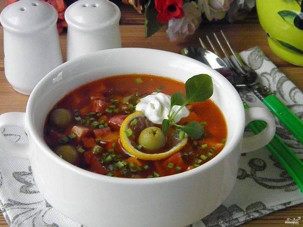 Солянка » постные рецепты, постные блюда, постная кухня