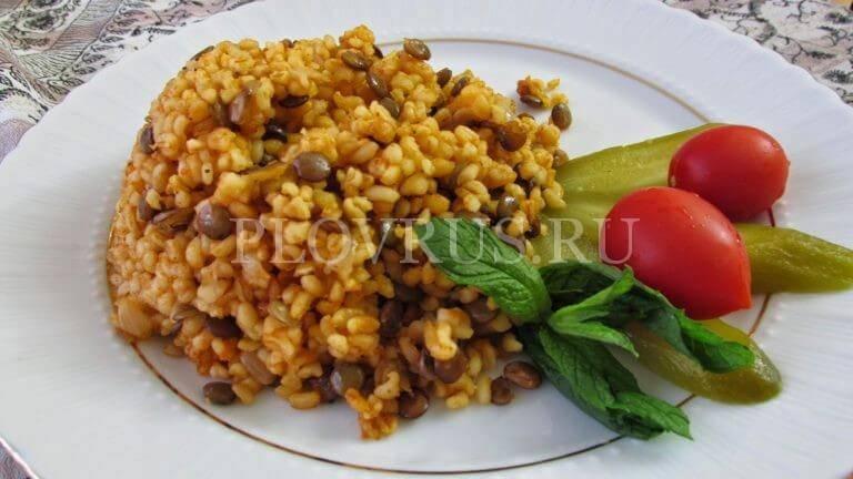 Блюда из чечевицы в мультиварке: 4 простых рецептов с фото