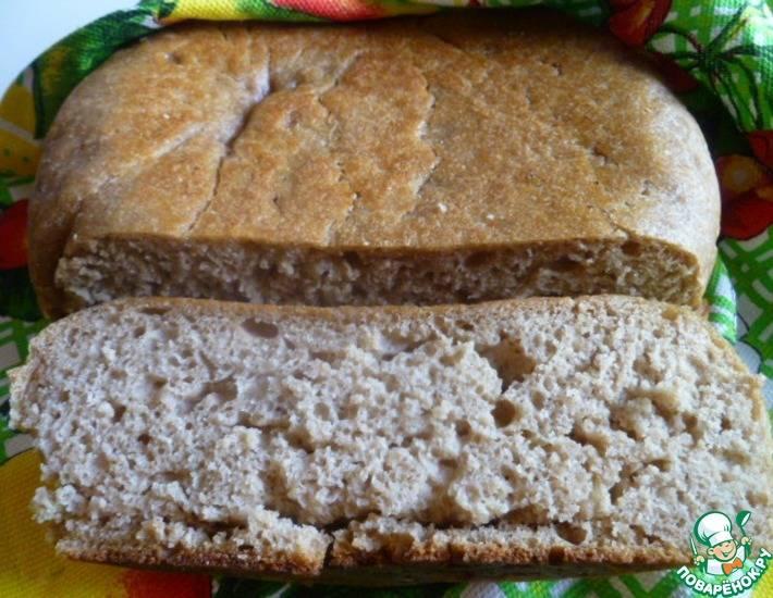 Дарницкий хлеб на закваске формовой
