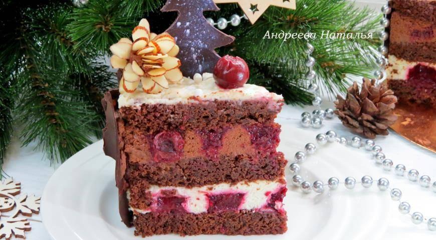 Торт «пьяная вишня» (классический, в шоколаде): пошаговые рецепты с фото