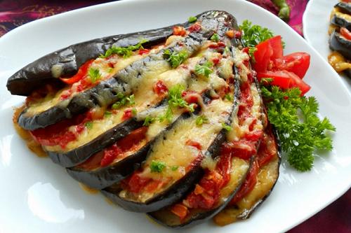 Пошаговые рецепты приготовления фаршированных баклажанов в духовке