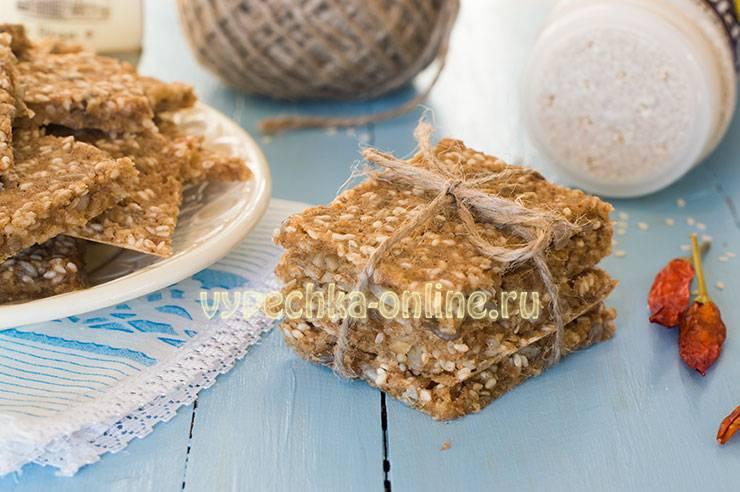 Интересный рецепт домашних ржаных хлебцев