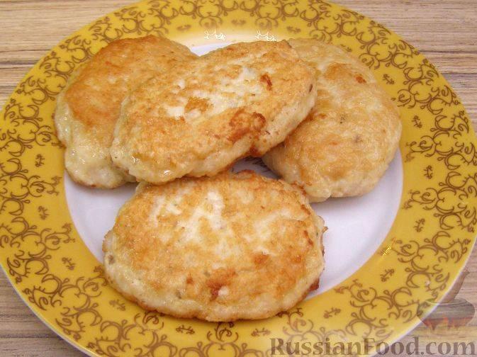 Котлеты из куриного фарша с рисом и овощами - 6 пошаговых фото в рецепте