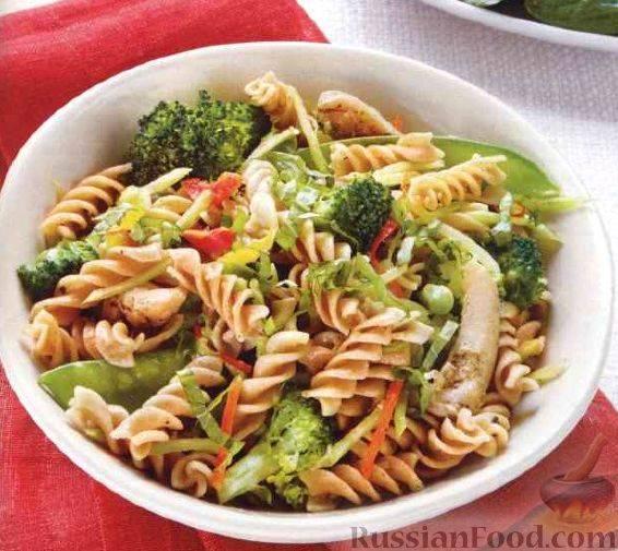 Паста с овощами - лучшие рецепты вкусного итальянского блюда