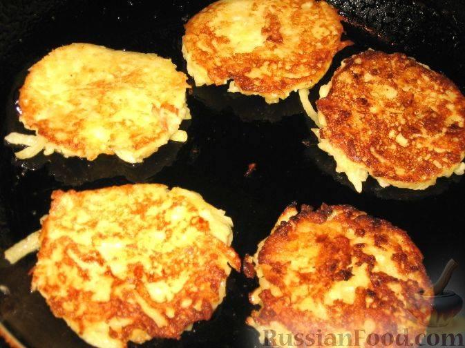 Картофельные латкес с иерусалимским артишоком (potato, jerusalem artichoke latkes) - вкусные заметки