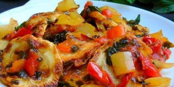 Как приготовить мусаку по-гречески с кабачками?