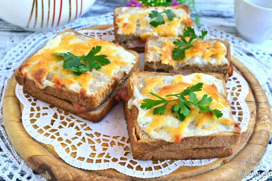 поделиться информацией французские тосты рецепты с фото представляет