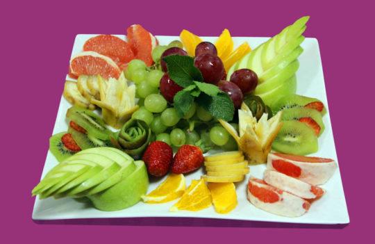 Красивая овощная нарезка — фото идеи оформления