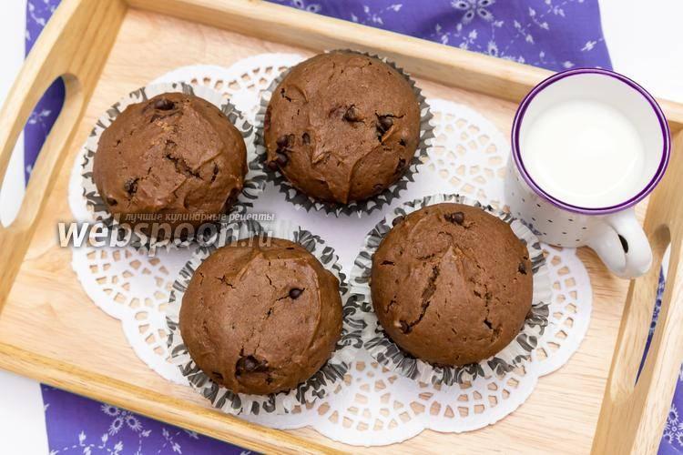 Шоколадные маффины [рецепты с фото]