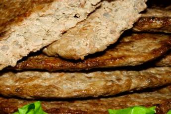 Печёночные оладьи с рисом - 8 пошаговых фото в рецепте