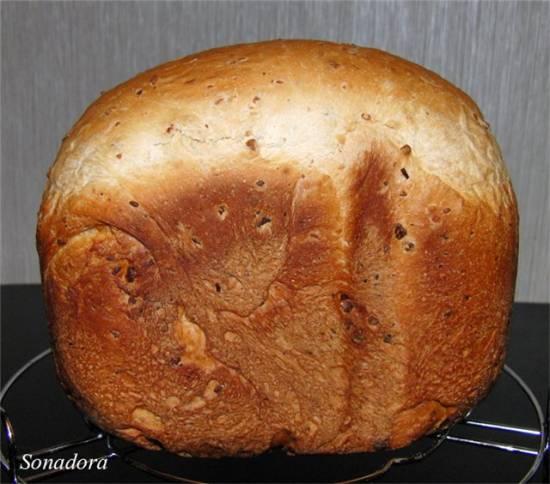 Хлеб с вялеными ягодами и орехами в хлебопечке рецепт с фото, как приготовить на webspoon.ru