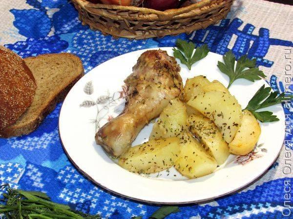 Куриные ножки с хрустящей корочкой. готовим в духовке. 6 простых рецептов
