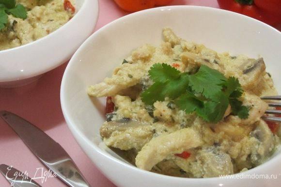 Фрикасе из курицы – рецепты с шампиньонами, овощами, рисом и болгарским перцем