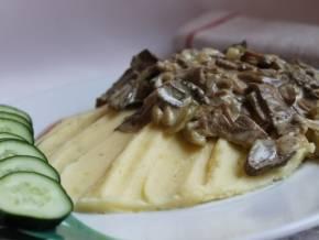 Кабачки с грибами в духовке. пошаговый рецепт с фото