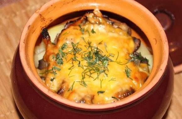 Мясо в горшочках с картошкой – рецепты из курицы, говядины, свинины и ребрышек с сыром и овощами