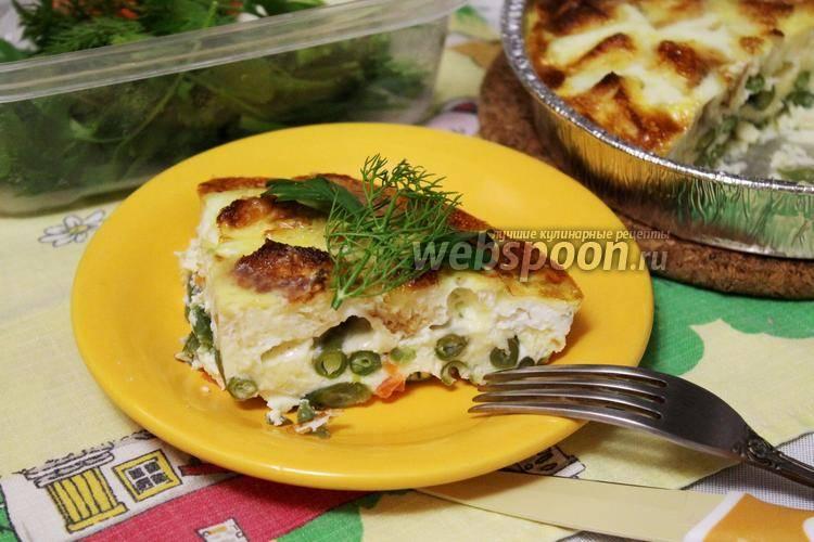 Рецепт запеканки с грибами, куриной грудкой, зеленой фасолью - запеканки - вторые блюда - мои любимые рецепты