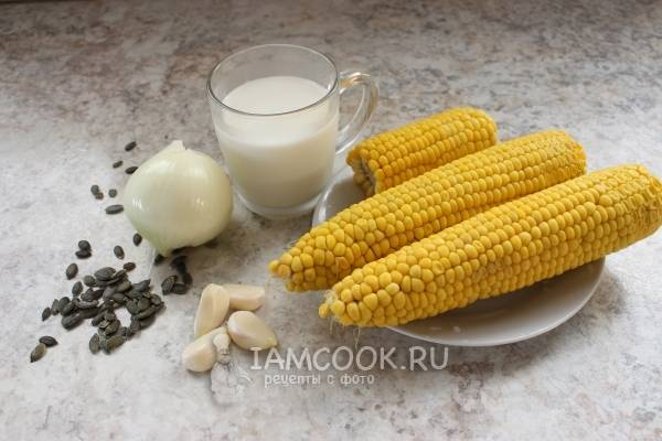 Кукурузное пюре на гарнир