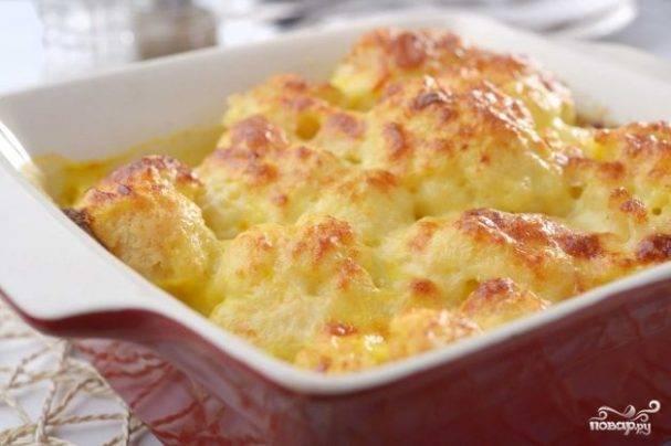 Рецепт цветной капусты, запеченной в духовке - 9 пошаговых фото в рецепте