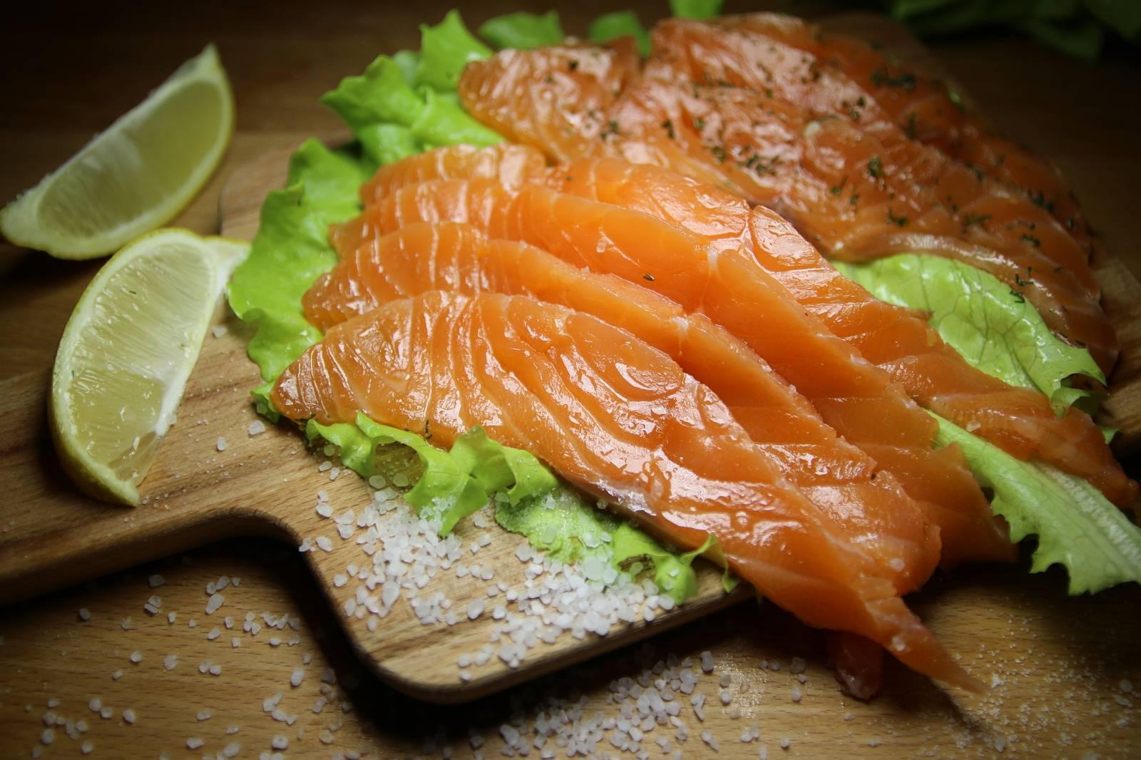 Советы по солению красной рыбы