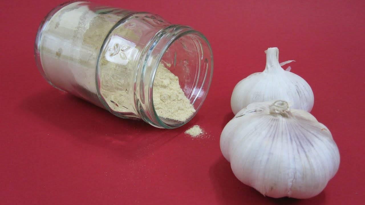 Как приготовить чесночный порошок: 8 шагов