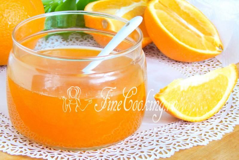 Джем апельсиновый - рецепты